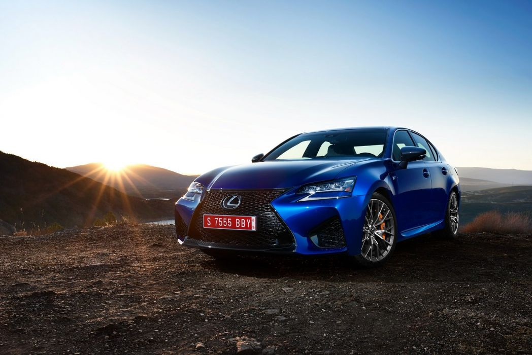 Lexus GS-F EU-spec cars sedan 2015 wallpaper