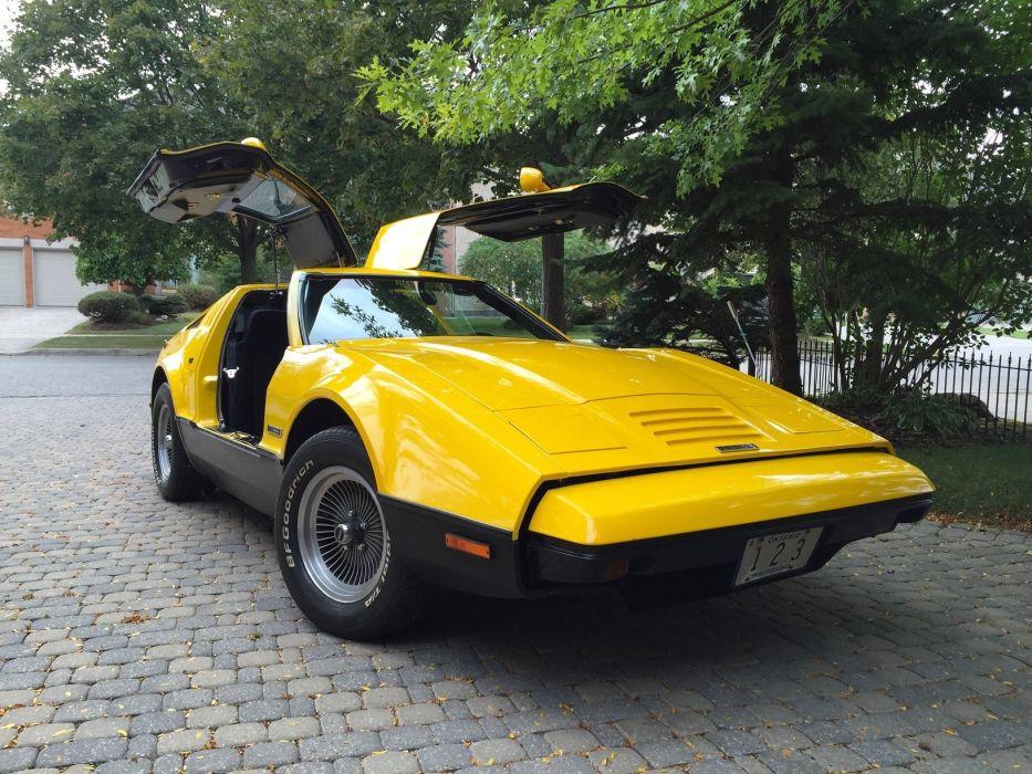 Bricklin SV-1 cars coupe 1974 wallpaper