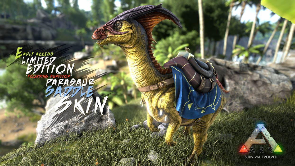 Ark Survival Evolved Dinosaur Exploration Adventure Monster