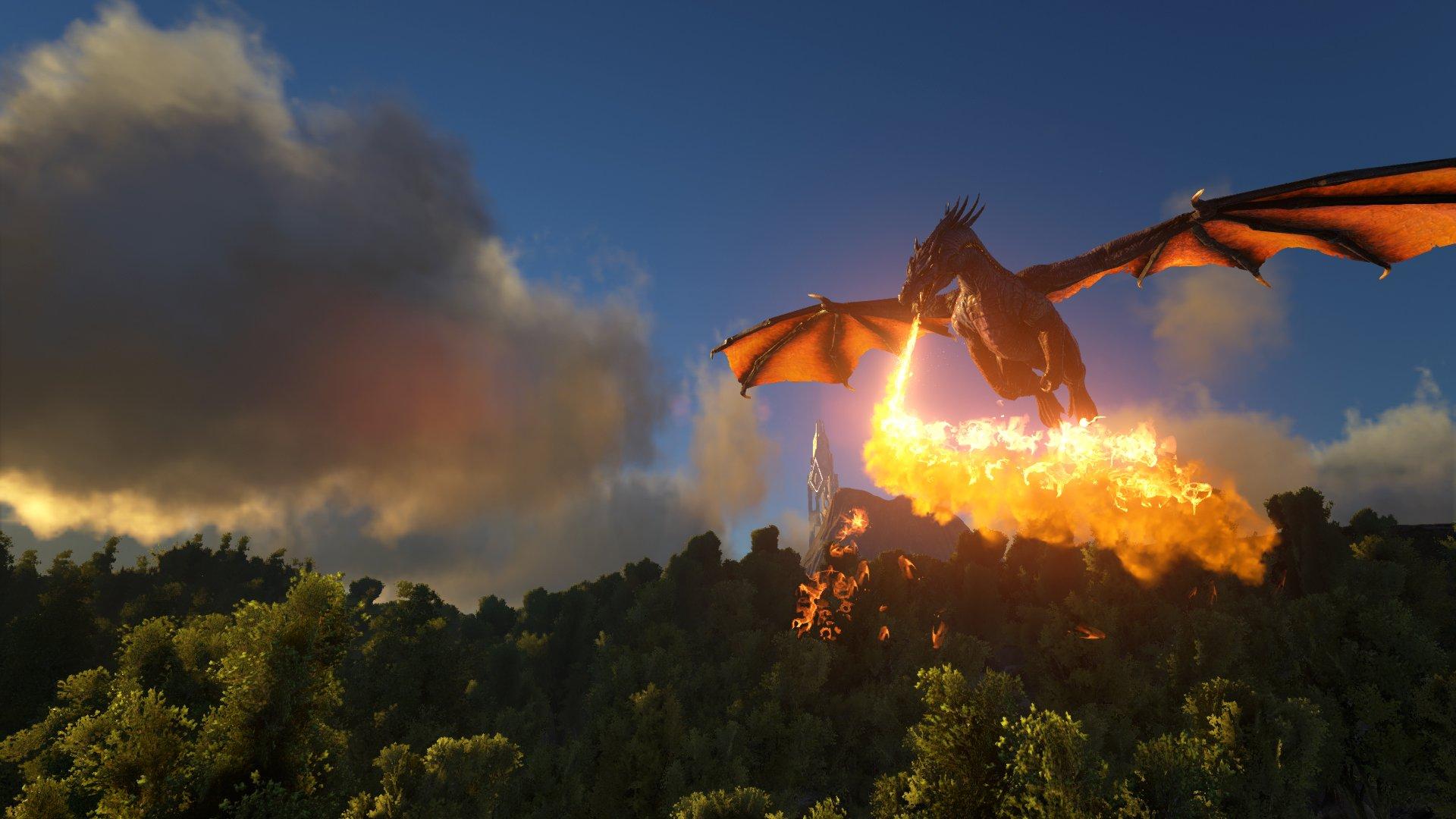 Ark Survival Evolved Dinosaur Exploration Adventure Monster Creature 1asev Action Fighting