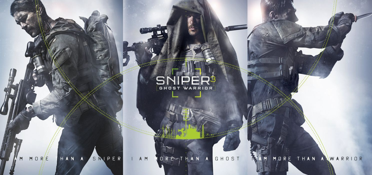 SNIPER Ghost Warrior military shooter stealth action fighting 1sgw tactical poster wallpaper