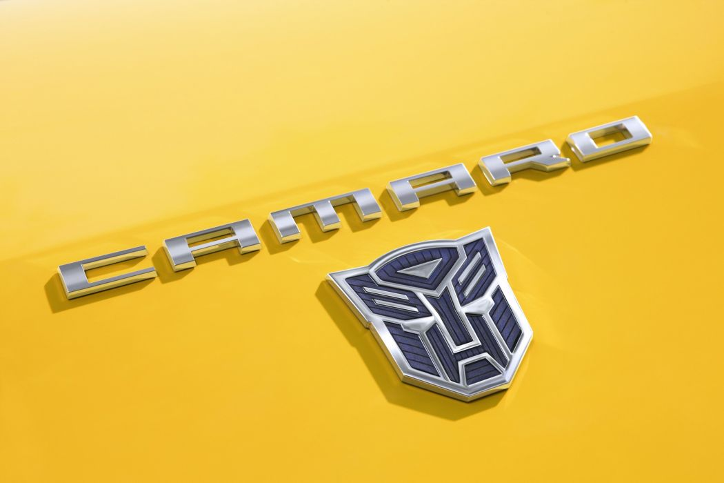 Camaro Transformer Logo wallpaper
