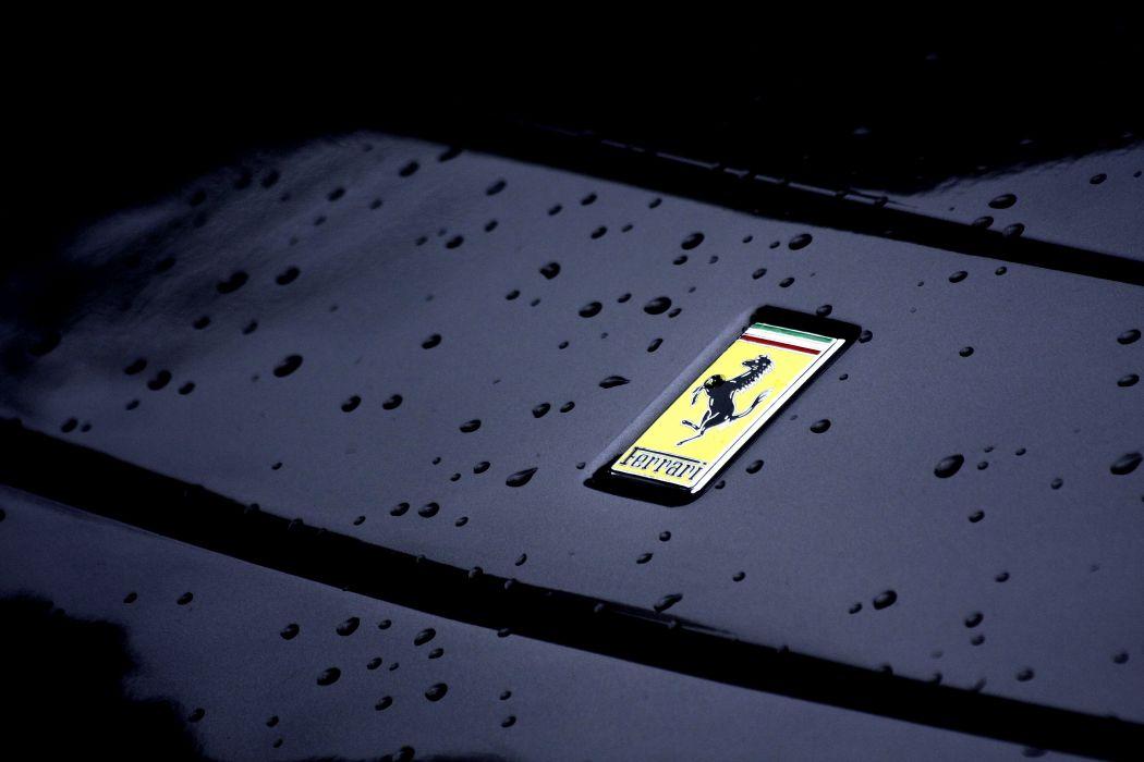 Ferrari logo wallpaper