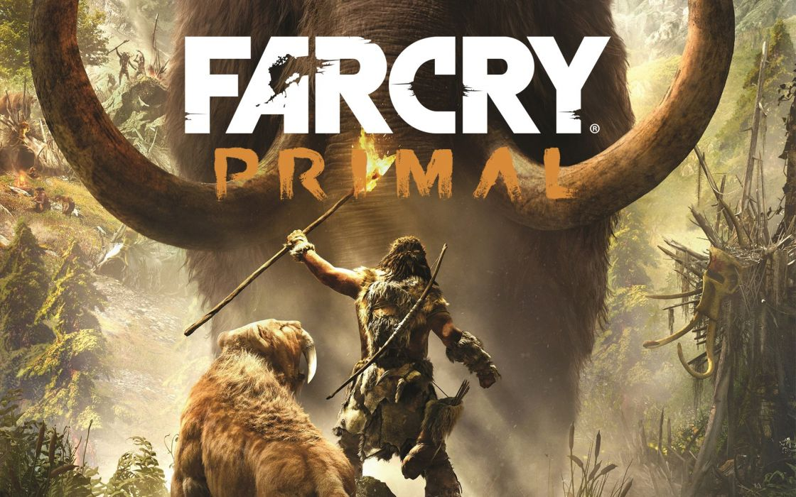 FAR CRY PRIMAL action fighting shooter farcry adventure fantasy sandbox poster wallpaper