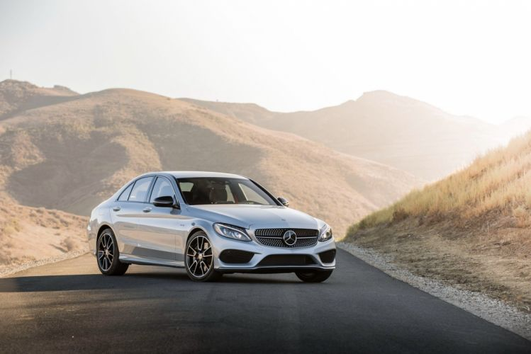 2016 Mercedes C-450 AMG Sport US-spec (W205) cars sedan 2015 wallpaper