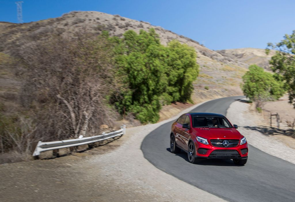 2016 Mercedes GLE 450 AMG 4MATIC Coupe US-spec cars suv 2015 wallpaper