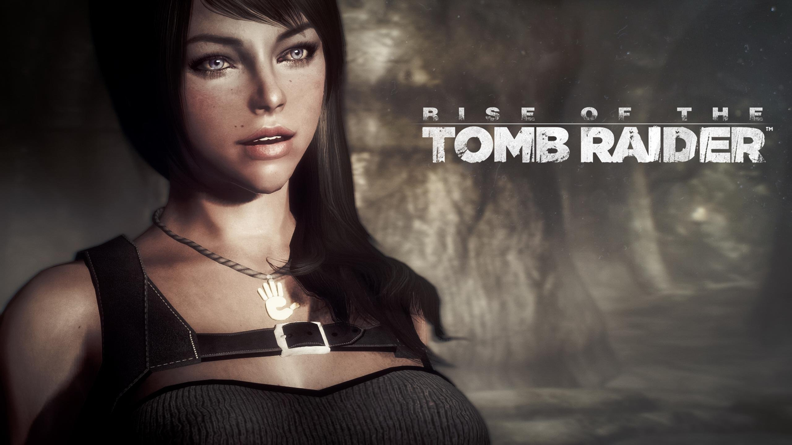 RISE TOMB RAIDER Lara Croft Action Adventure Fantasy Warrior Poster Wallpaper