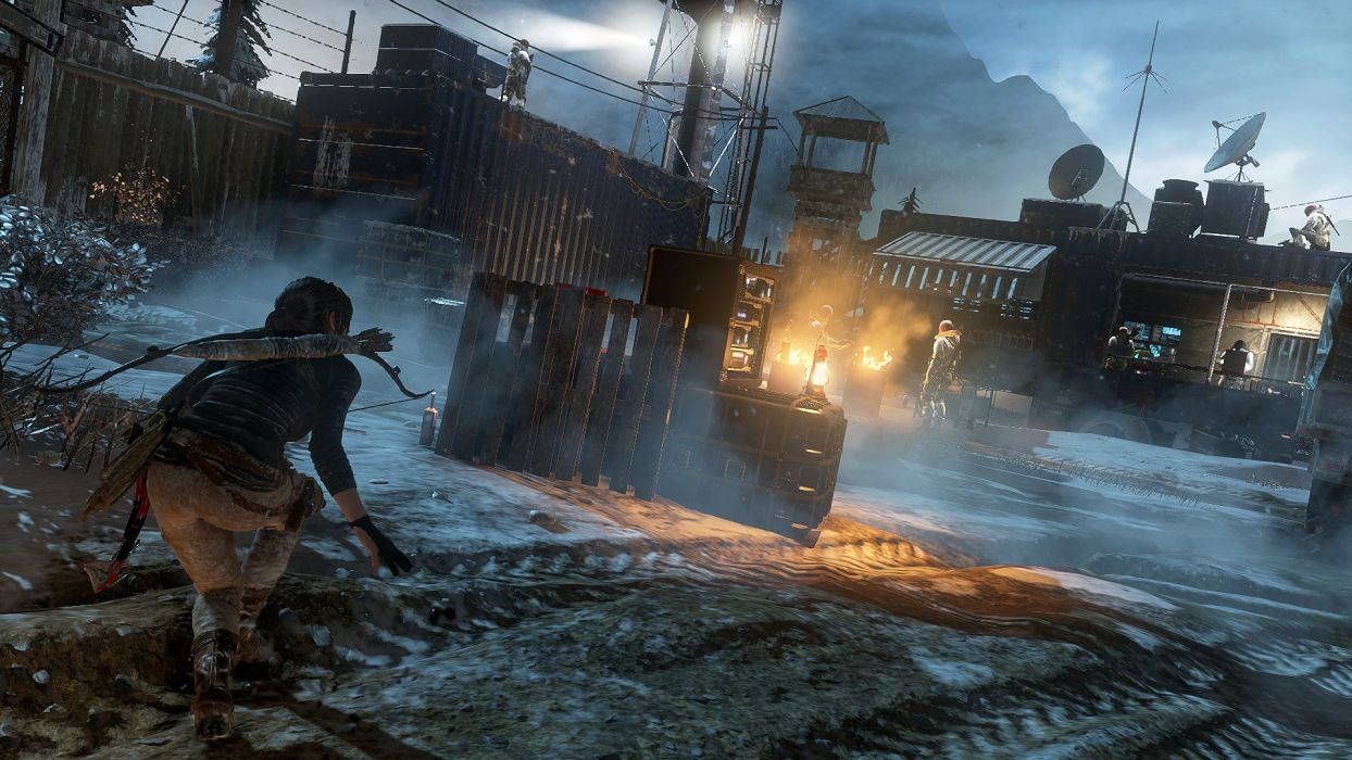 Rise Tomb Raider Lara Croft Action Adventure Fantasy Warrior