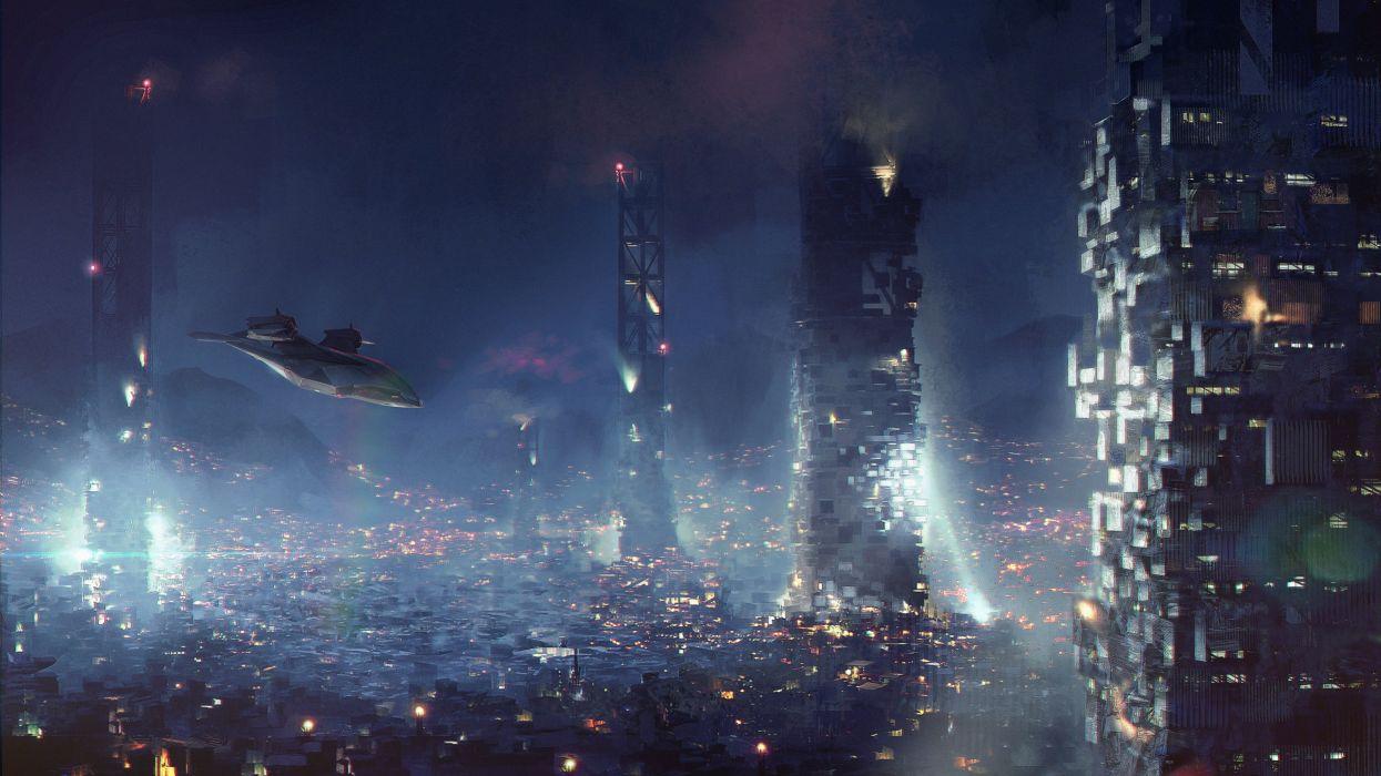 Deus Ex Mankind Divided Cyberpunk Sci Fi Futuristic Shooter
