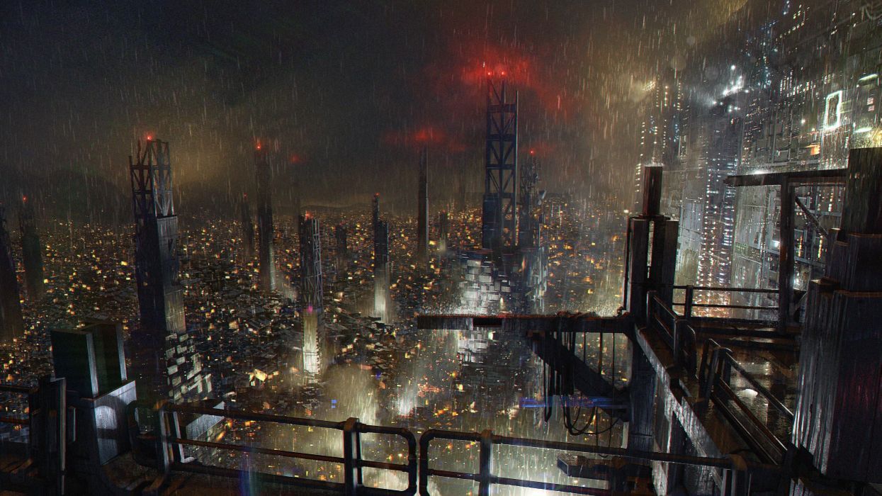 DEUS EX MANKIND DIVIDED cyberpunk sci-fi futuristic shooter warrior fps stealth tactical rpg wallpaper