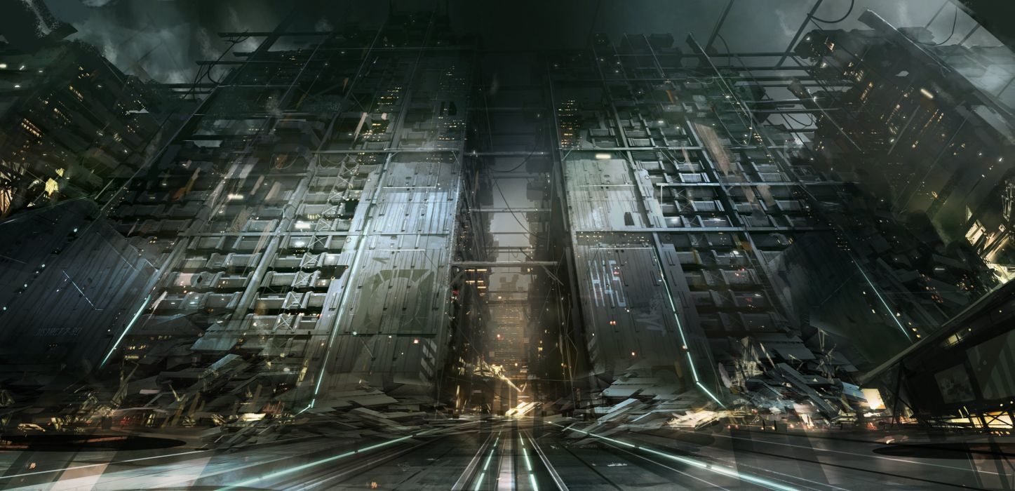 DEUS EX MANKIND DIVIDED cyberpunk sci-fi futuristic shooter warrior fps stealth tactical rpg wallpaper