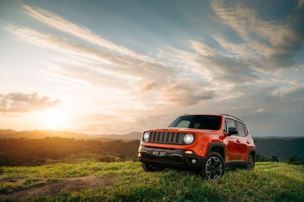 Jeep Renegade Trailhawk AU-spec cars suv 2015 wallpaper