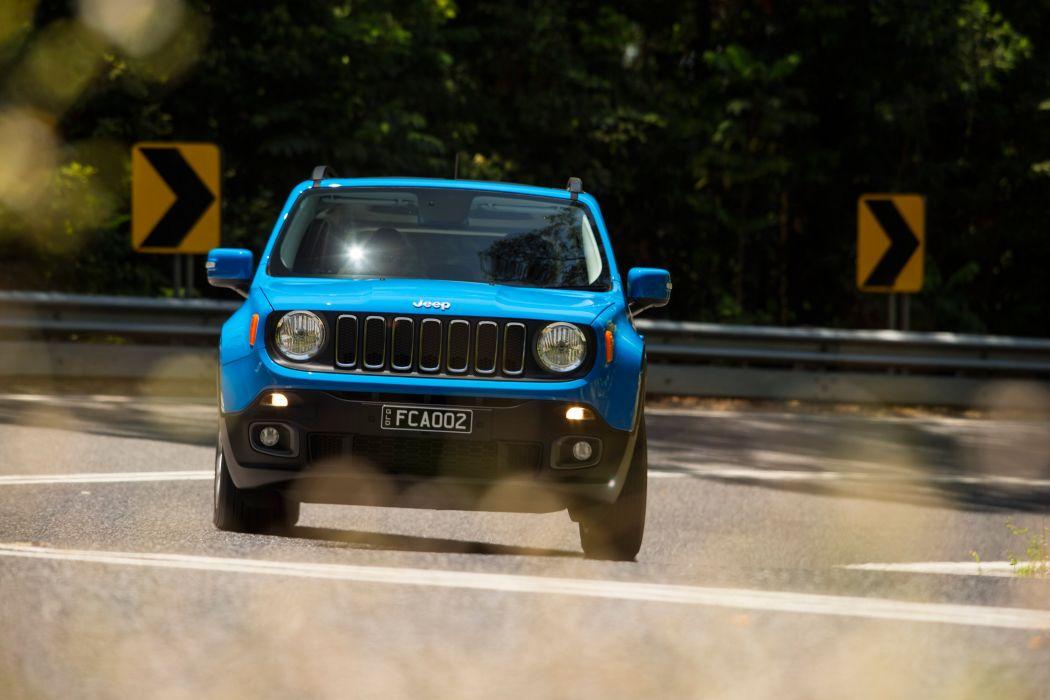 Jeep Renegade Longitude AU-spec cars suv 2015 wallpaper