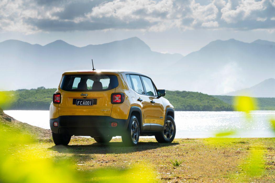 Jeep Renegade Sport AU-spec cars suv 2015 wallpaper