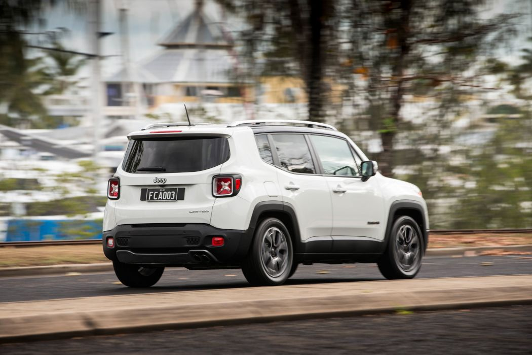 Jeep Renegade Limited AU-spec cars suv 2015 wallpaper