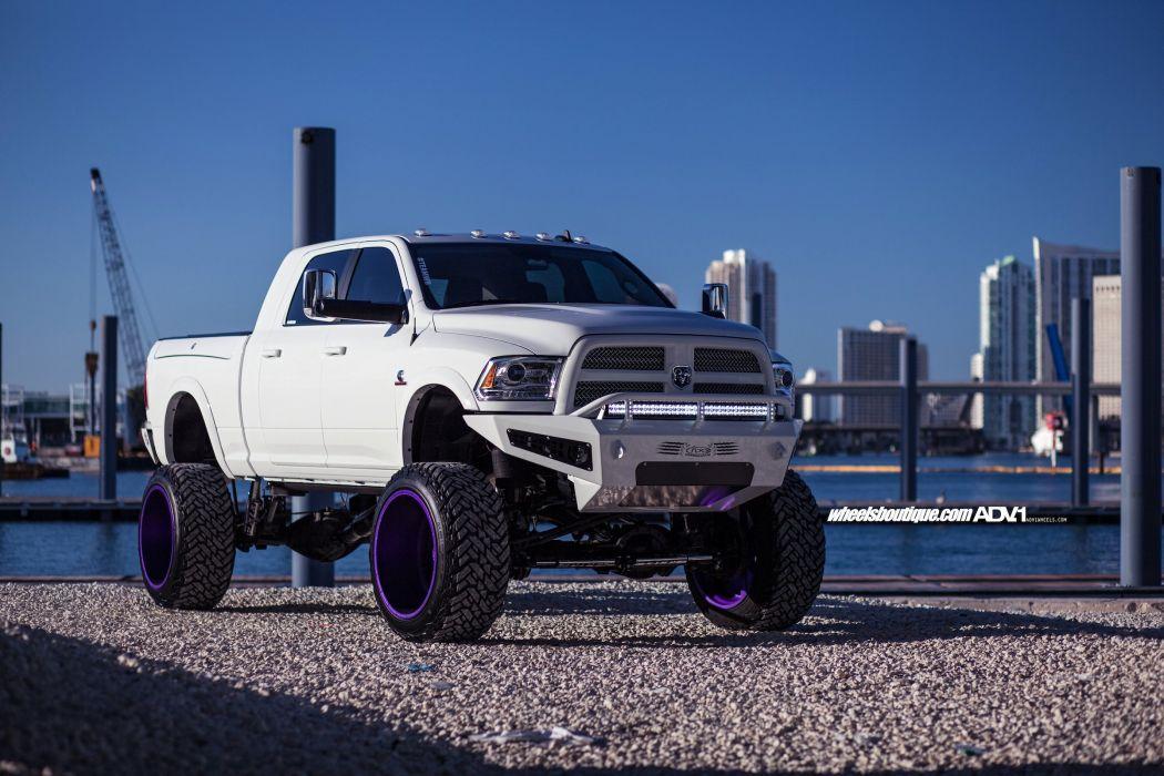 Lifted Dodge Ram 2500 >> DODGE RAM 2500 white cars pickup truck adv1 wheels wallpaper | 2400x1600 | 819909 | WallpaperUP