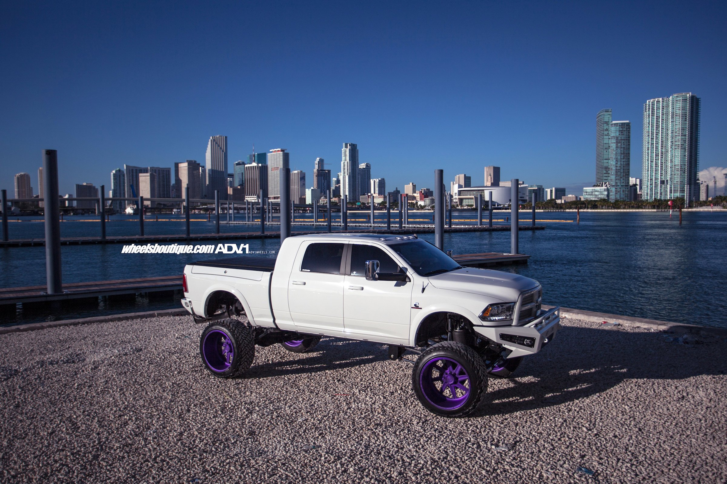 Dodge Ram 2500 White Cars Pickup Truck Adv1 Wheels Wallpaper 2400x1600 819911 Wallpaperup