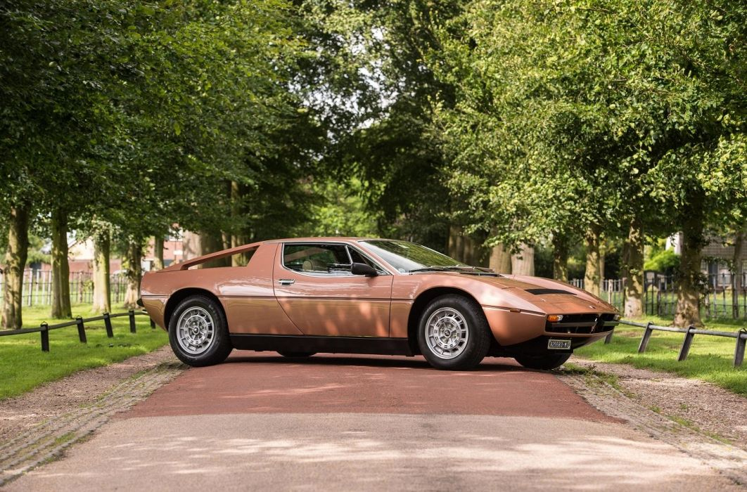 Maserati Merak 2000-GT cars coupe 1977 wallpaper