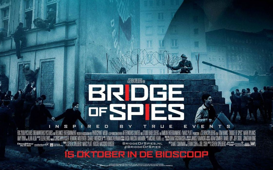 BRIDGE OF SPIES tom hanks drama thriller court crime military 1bspies spy poster wallpaper