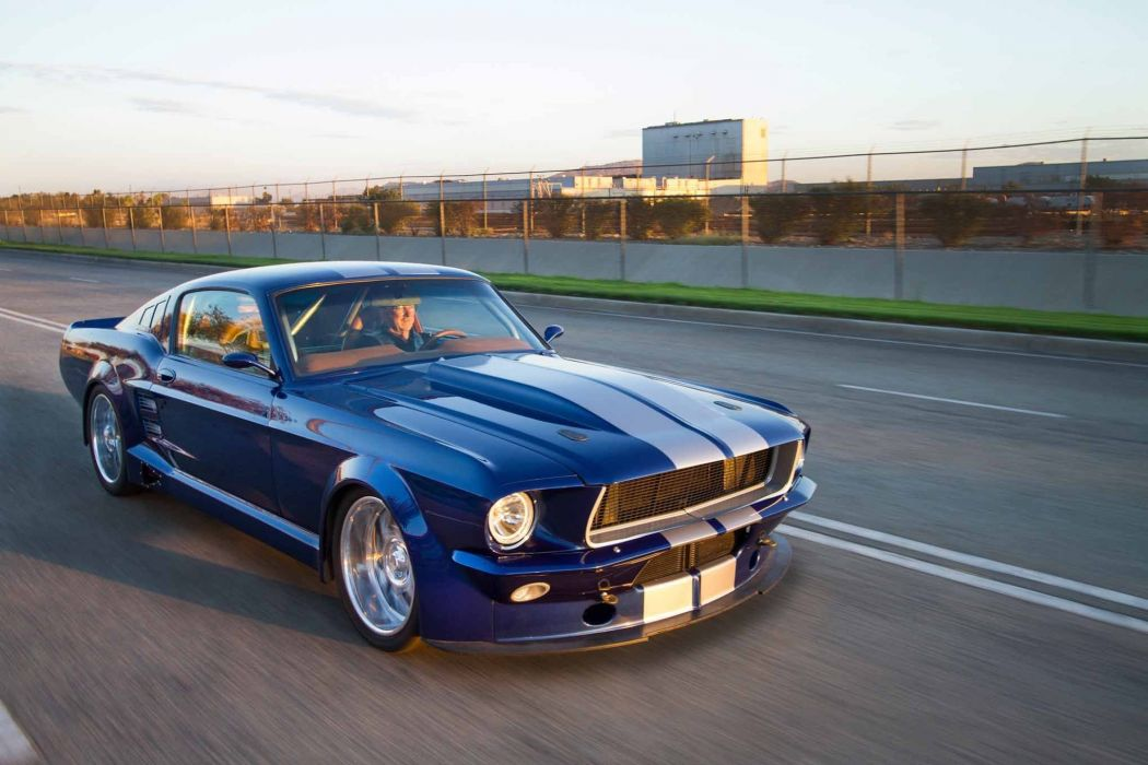 Ford Mustang 1967 Fastback Wallpaper