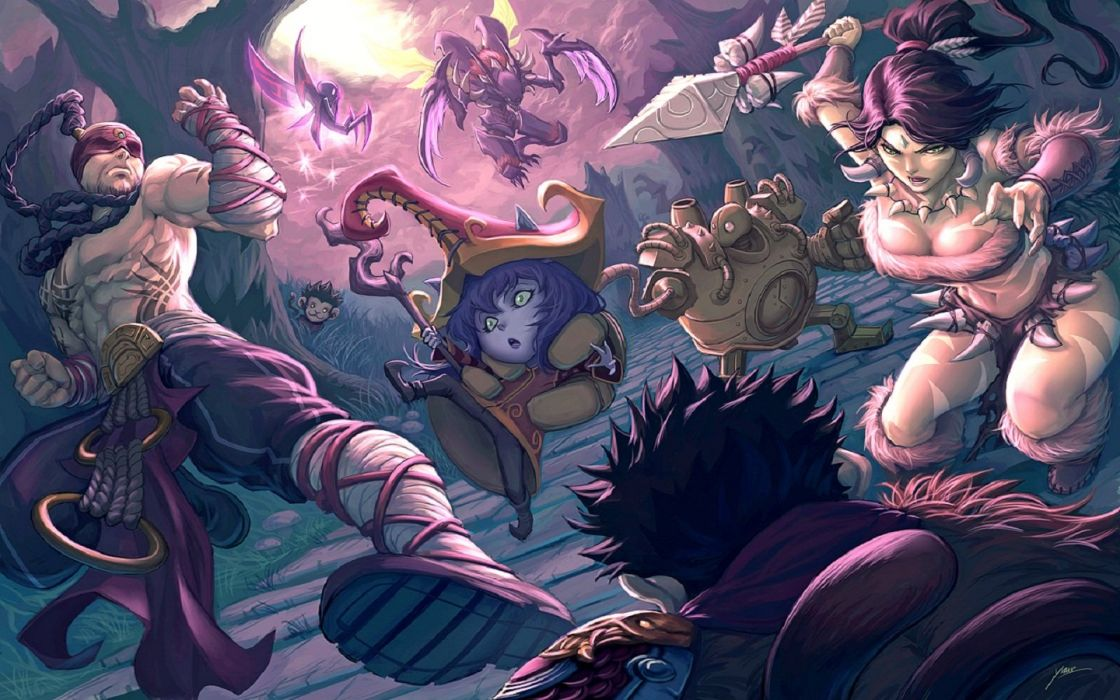 Twisted Treeline by Quirkillcious - League Of Legends wallpaper