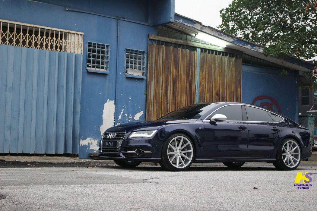 Audi-A7 sportback vossen wheels cars wallpaper