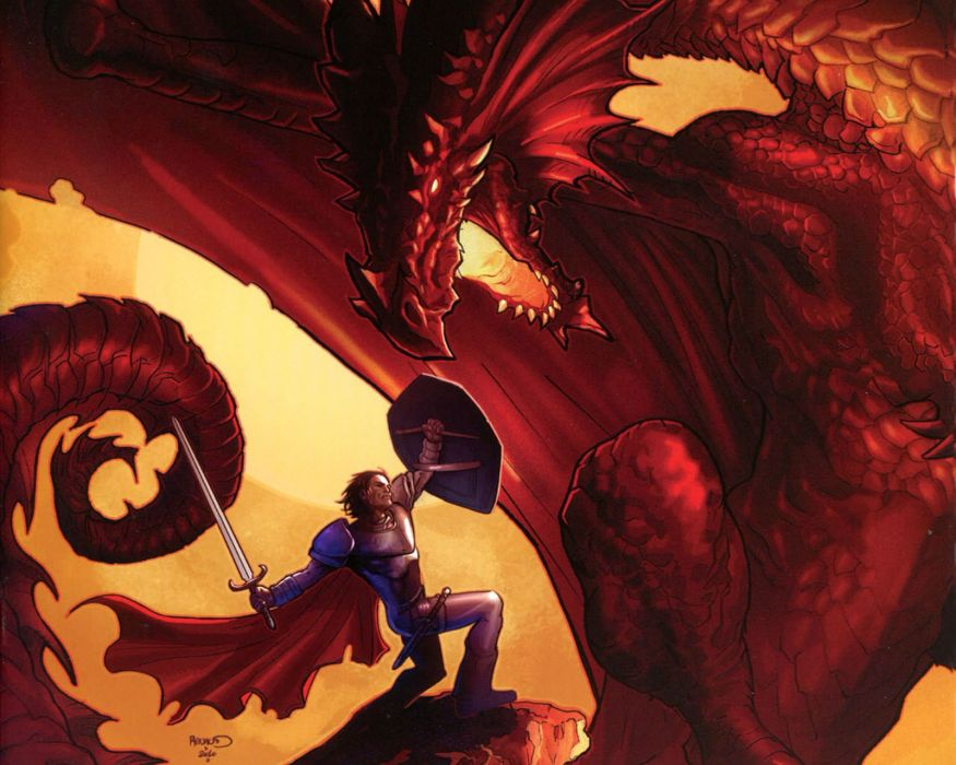 DUNGEONS DRAGONS Forgotten Realms magic rpg action adventure puzzle fantasy warrior dragon wallpaper
