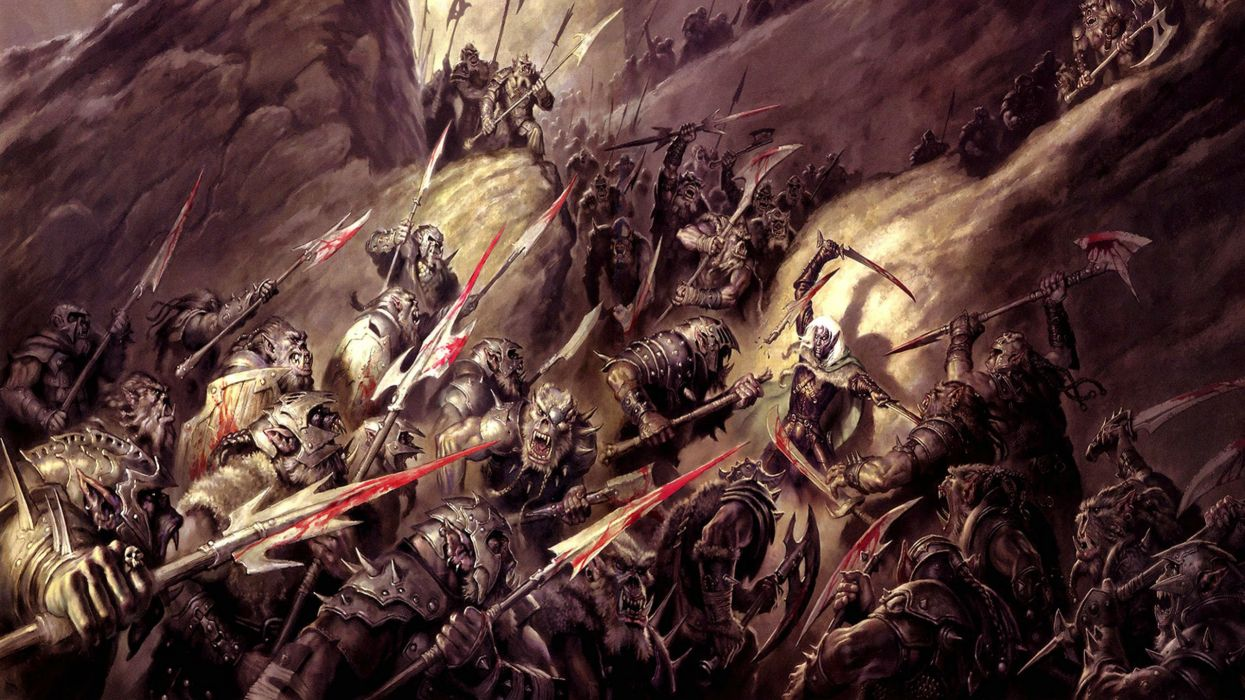 DUNGEONS DRAGONS Forgotten Realms magic rpg action adventure puzzle fantasy warrior wallpaper
