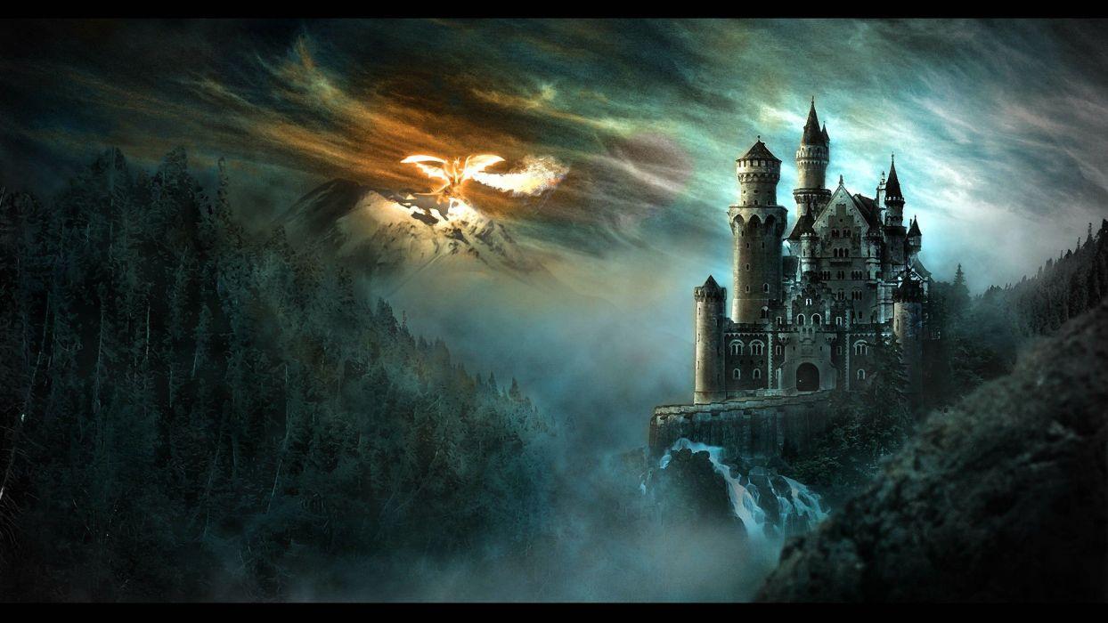 DUNGEONS DRAGONS Forgotten Realms Magic Rpg Action Adventure Puzzle Fantasy Warrior Dragon Wallpaper