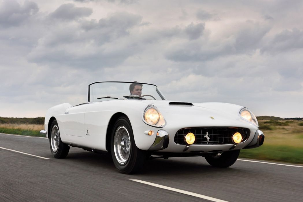 Ferrari 250 Gt Cabriolet Series I Cars Classic White 1957 Wallpaper 1440x961 821237 Wallpaperup