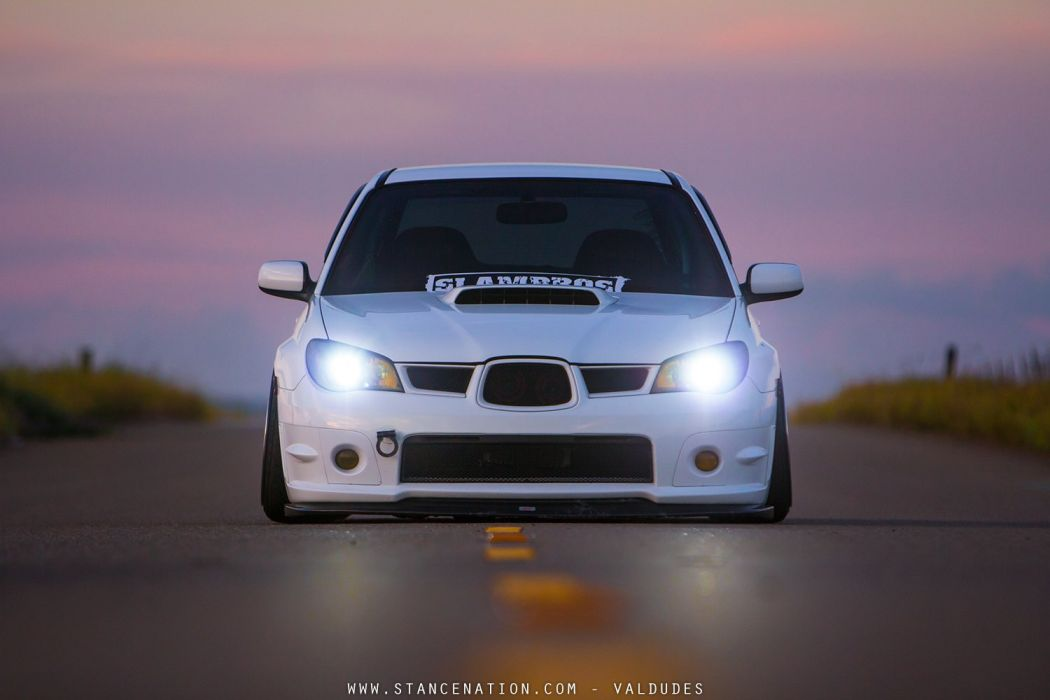 Subaru WRX STi cars modified wallpaper
