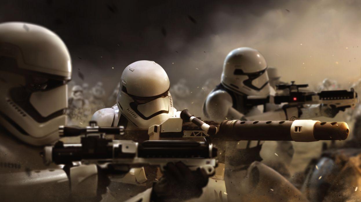 STAR WARS FORCE AWAKENS sci-fi futuristic disney 1star-wars-force-awakens action adventurewarrior wallpaper