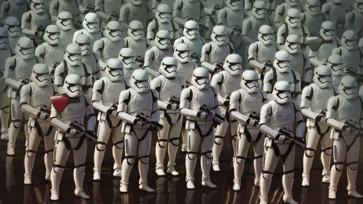 STAR WARS FORCE AWAKENS sci-fi futuristic disney 1star-wars-force-awakens action adventure warrior wallpaper