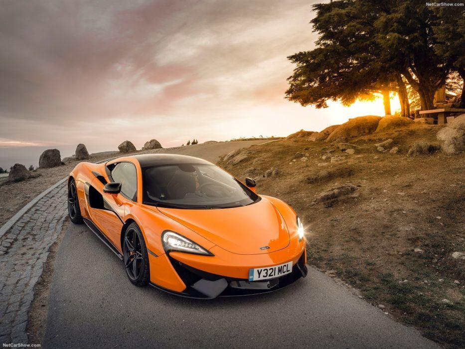 2016 570S cars Coupe McLaren supercars orange wallpaper