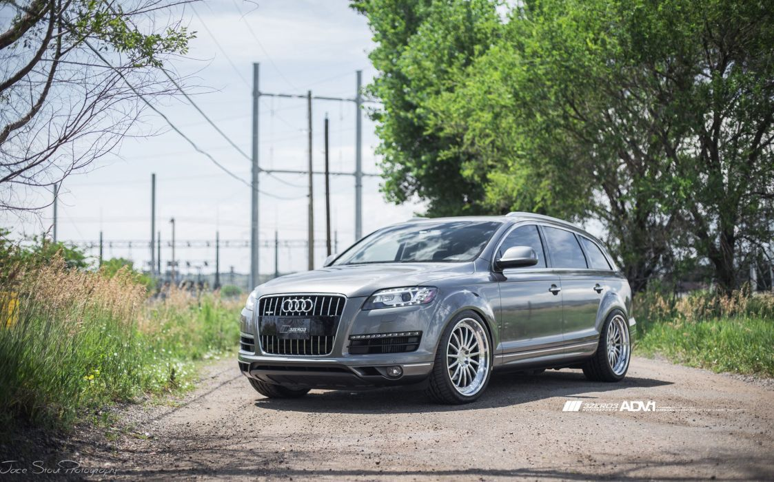 ADV1 WHEELS GALLERY Audi-Q7 TDI cars suv wallpaper