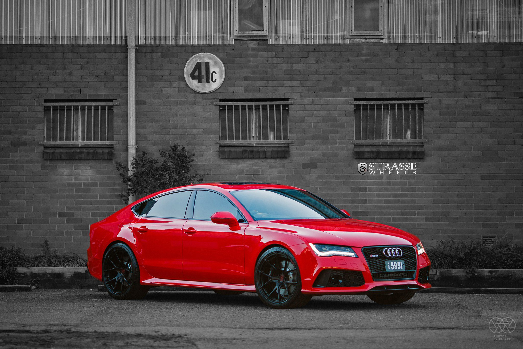 Strasse Wheels Gallery Audi Rs7 Red Cars Coupe Wallpaper