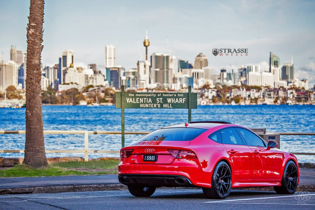 Strasse Wheels Gallery Audi Rs7 Red Cars Coupe Wallpaper 2048x1366