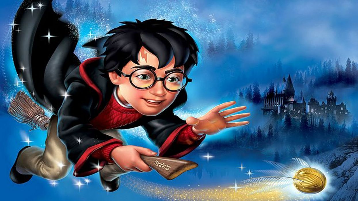 HARRY POTTER fantasy adventure witch series wizard magic wallpaper