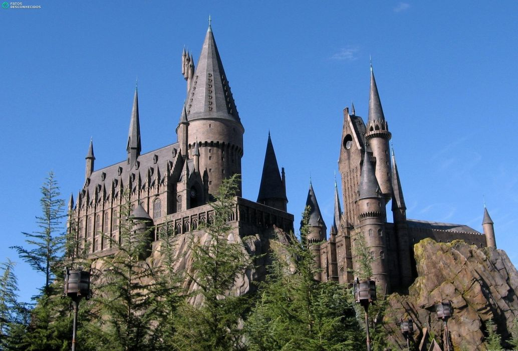 HARRY POTTER fantasy adventure witch series wizard magic castle wallpaper