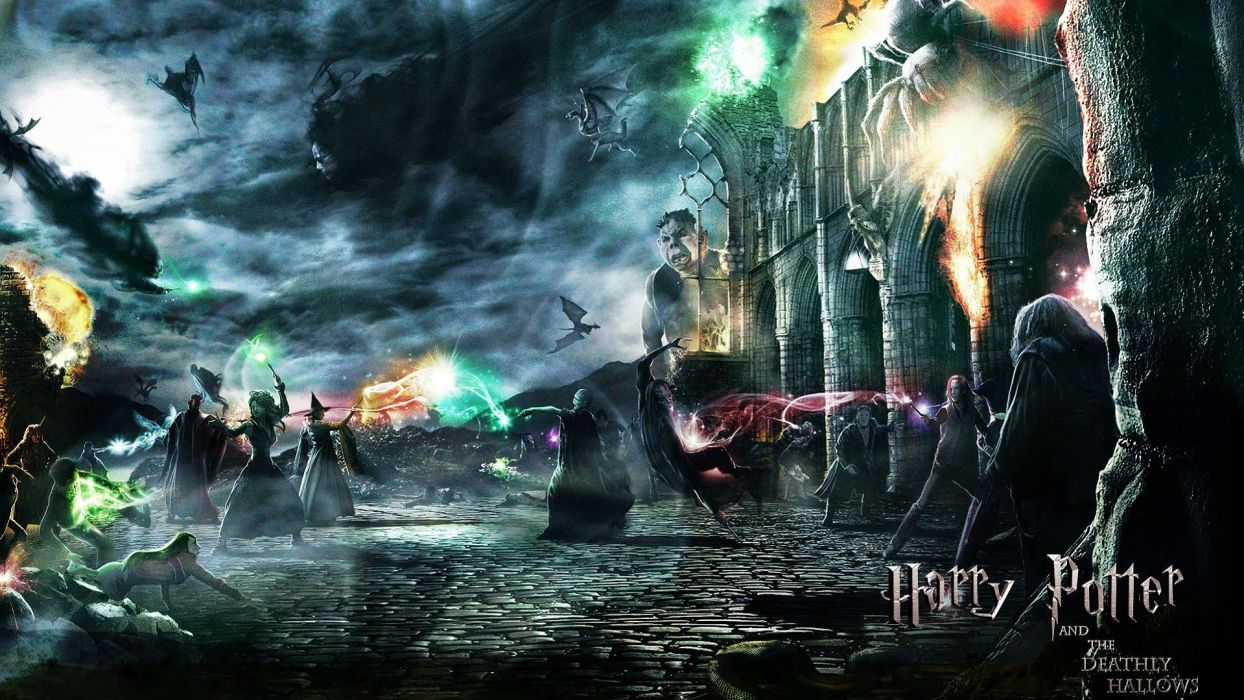 HARRY POTTER fantasy adventure witch series wizard magic poster wallpaper