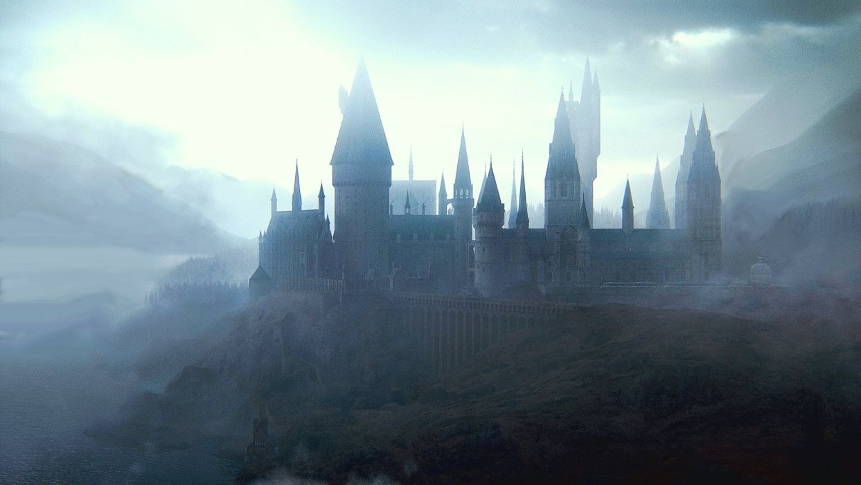 HARRY POTTER fantasy adventure witch series wizard magic castle wallpaper