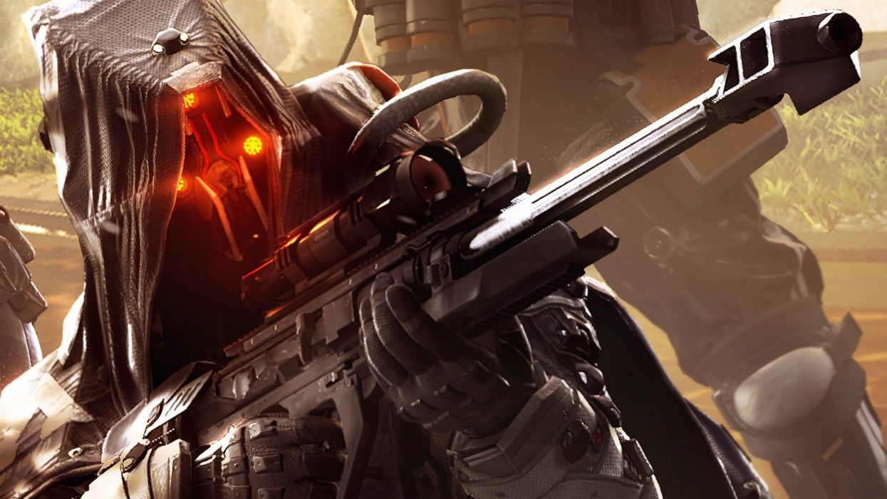 KILLZONE SHADOW FALL stealth tactical warrior sci-fi futuristic shooter action fighting wallpaper