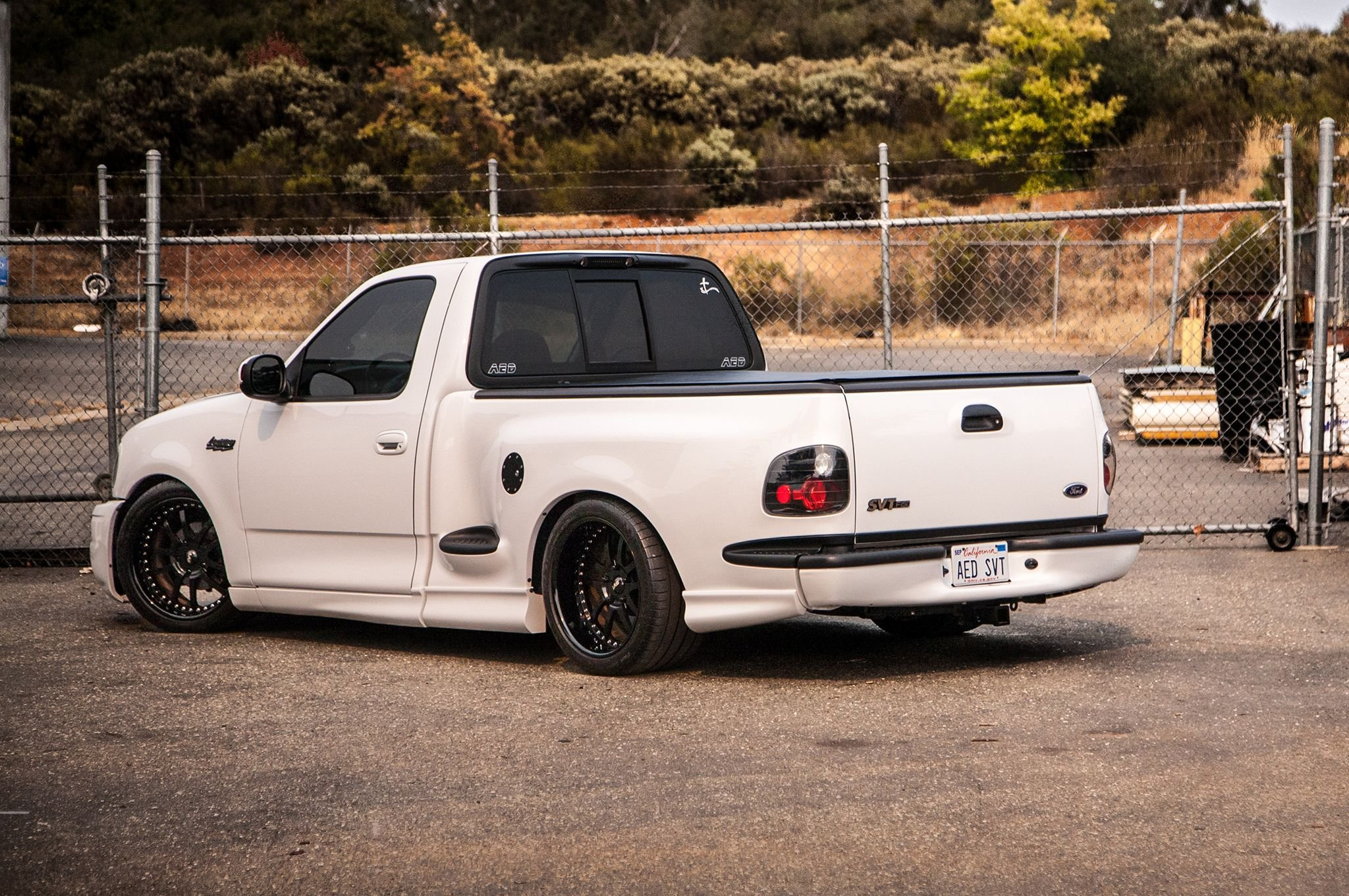 2003 Ford Lightning Cars Modified Pickup White Wallpaper 2048x1360 824626 Wallpaperup