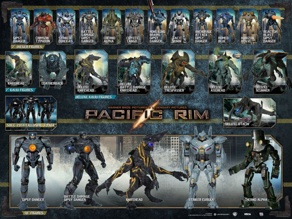 PACIFIC RIM Mecha Robot Warrior Sci Fi Futuristic Poster Wallpaper