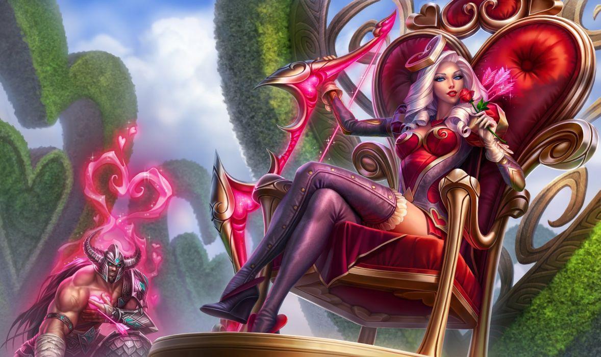 Heartseeker Ashe League Of Legends Wallpaper 1750x1040