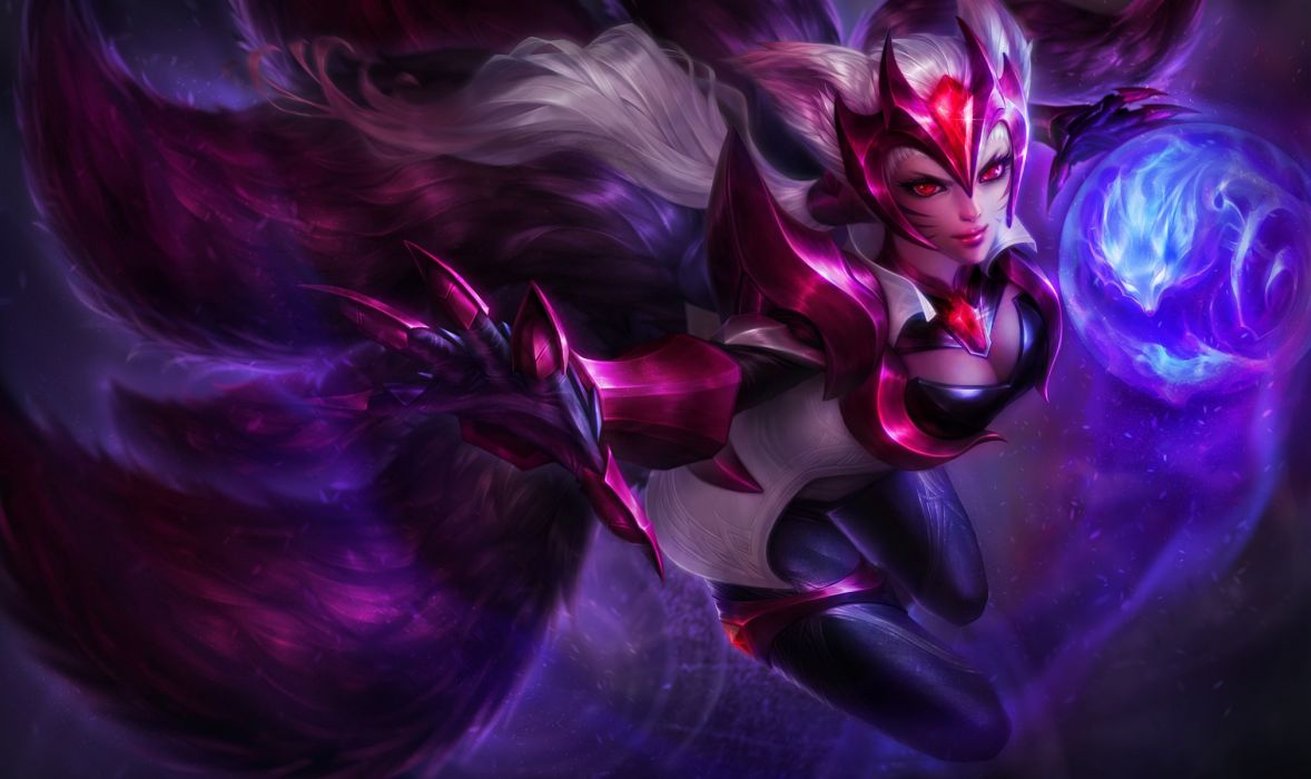 Ahri League Of Legends HD Wallpapers Background Images