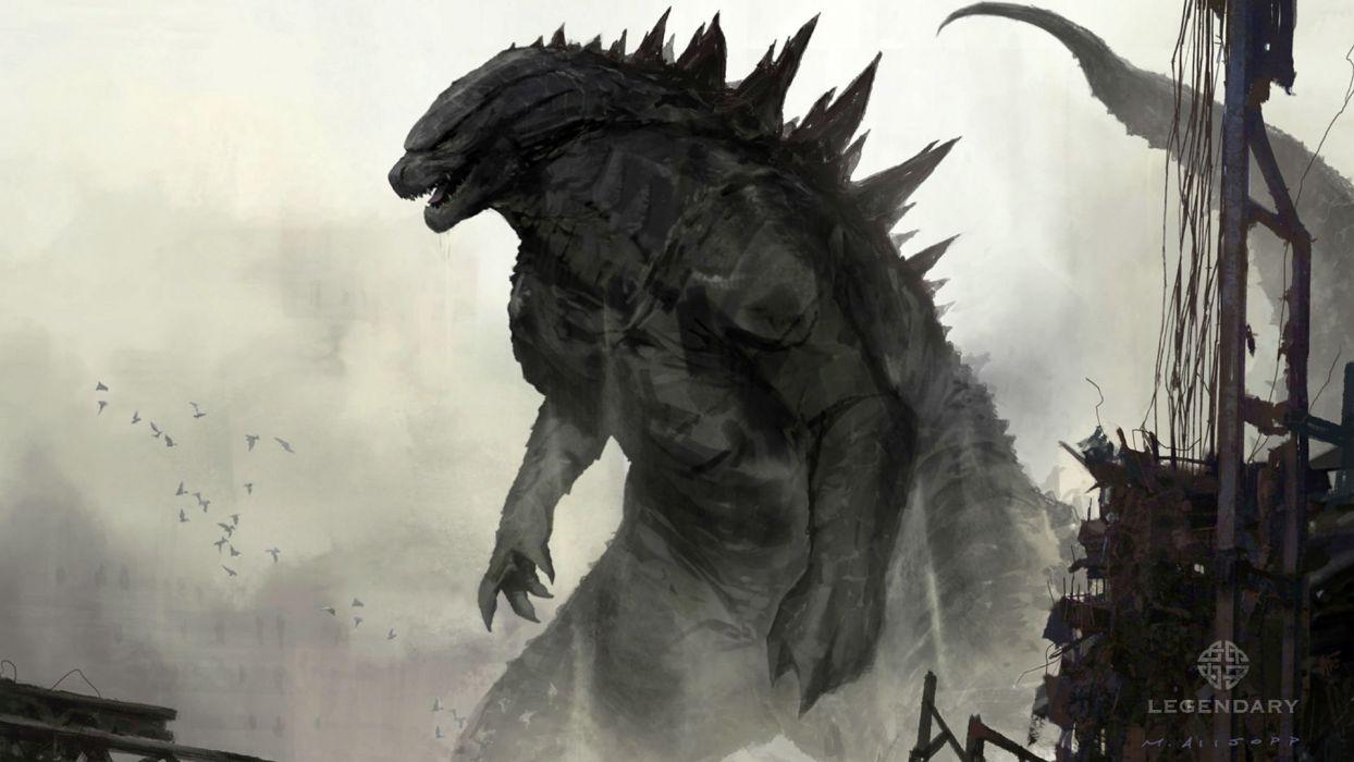 Godzilla Action Adventure Sci Fi Dinosaur Monster Creature Horror
