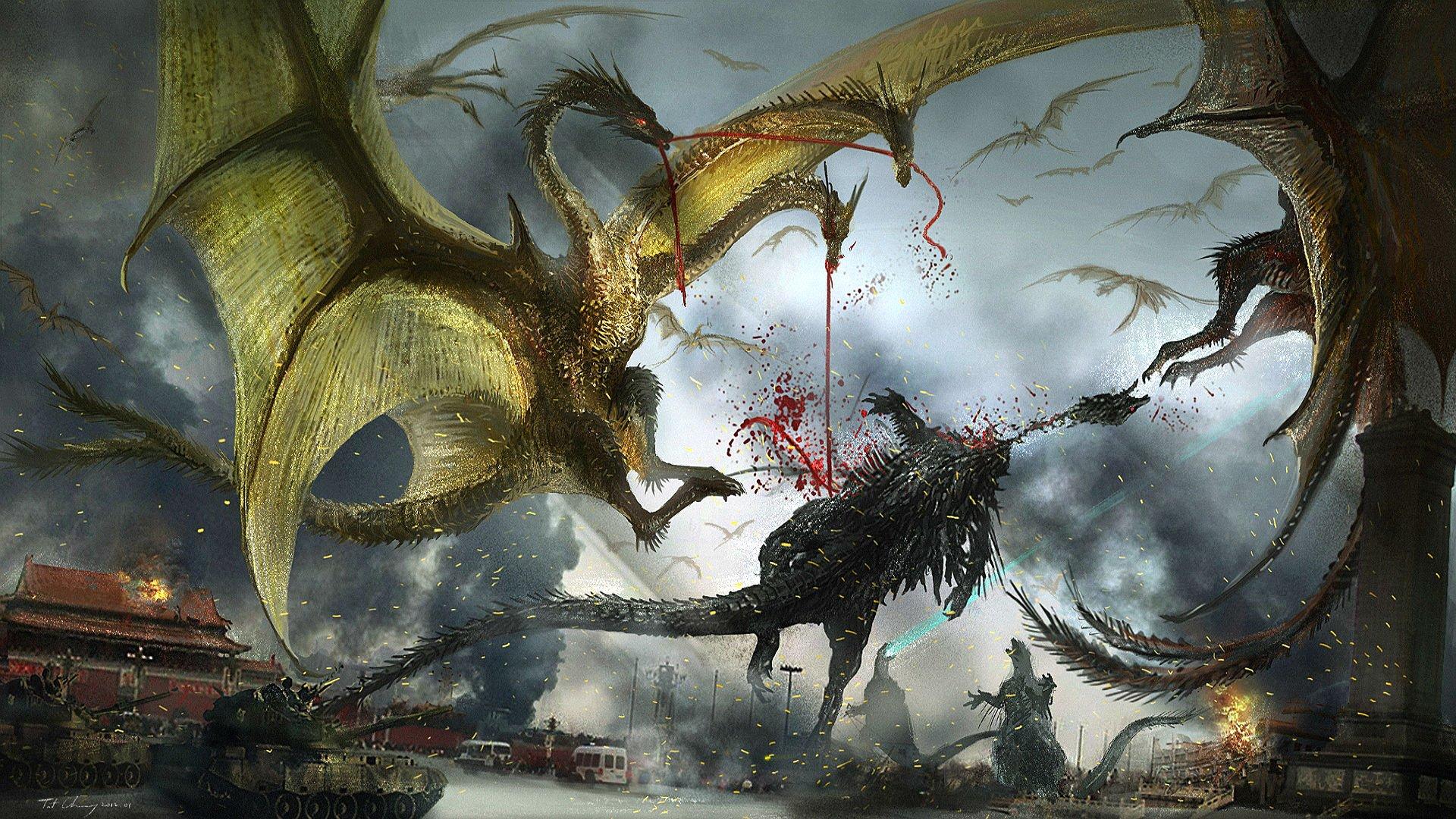 wallpaper godzilla monster dinosaur - photo #31