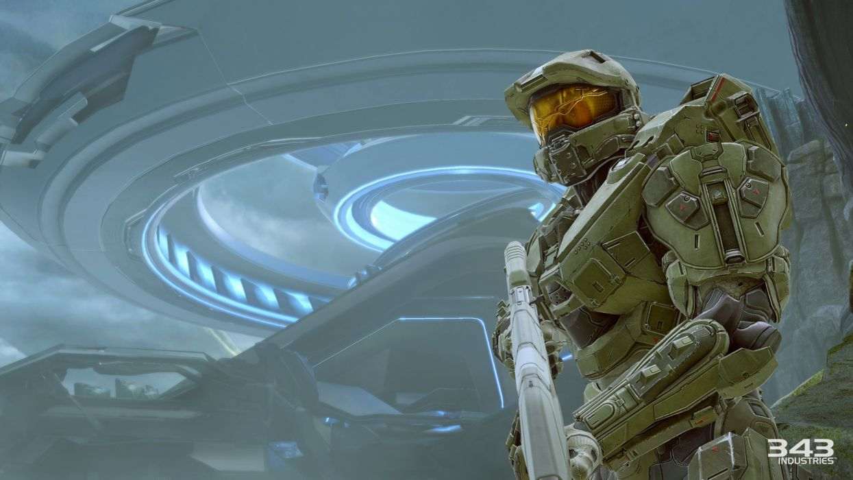 HALO 5 GUARDIANS shooter fps action fighting warrior sci-fi futuristic 1haloguardians wallpaper