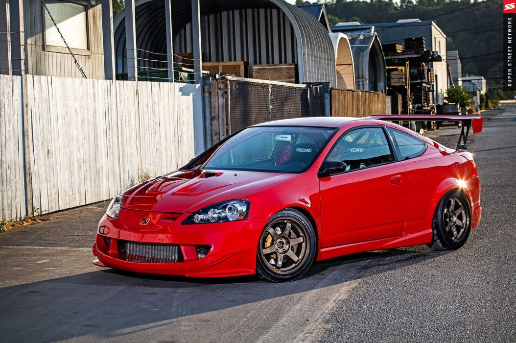 Mugen 2003 Acura RSX Type-S cars coupe red modified wallpaper ...